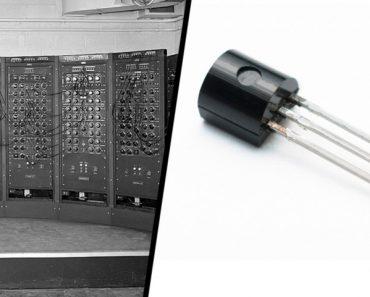 Como os computadores reduziram de tamanho?