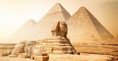 Como as pirâmides do Egito foram construídas?