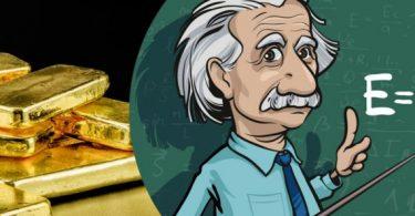 Por que o ouro é dourado?